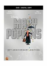 Mary Poppins: 50th Anniversary Edition (DVD + Digital Copy) Free Shipping