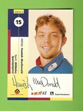 #D208.  ANSETT A.I.S.  CARD #15 - HAMISH McDONALD , PARA  ATHLETICS