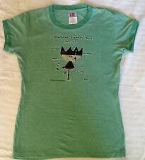 """New"" Ugly Little Bitch Women Medium Co-workers T-shirt.  ~14""x22"""