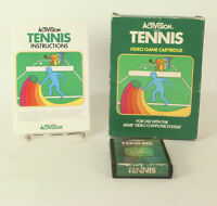 Boxed Atari 2600 game Tennis By Activision Tested & Working