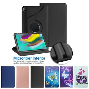 Case For Samsung Galaxy Tab SM-T510 T720 T860 PU Leather 360° Smart Stand Cover