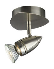 Stylish Spotlight In Satin Chrome Wall Light Or Ceiling Light 50W GU10 Included