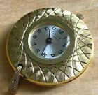 Vintage Orvin Lady 17 Jewels France Hand-Wind Necklace Pendant Pocket Watch Hour