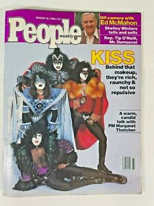 KISS People magazine cover August 18 1980 article VG+