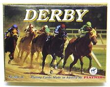"""""""PIATNIK"""" AUSTRIA🇦🇹1990`s 2 DECKS SEALED PLAYING CARDS- DERBY #2231"""