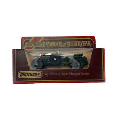 Vintage 1984 Matchbox Yesteryear Y-2 1930 4 1/2lt. Super Charged Bentley