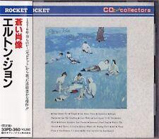 Elton John Blue Moves Japan 1st CD Obi 1987 33PD-360 Rare