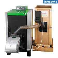 Pelletkessel Gusskessel Festbrennstoffkessel mit 25 kW - erfüllt BImSchV2