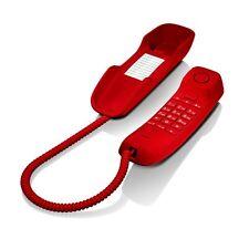 TELEFONO CABLE GIGASET-SIEMENS DA-210 ROJO
