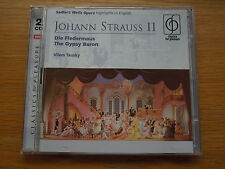 Strauss: Die Fledermaus / The Gypsy Baron [Highlights in English] EAN72435850022
