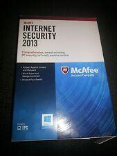 McAfee Internet Security 2013- 1 use