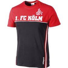 uhlsport 1. FC Köln Sportswear Shirt Herren T-Shirt Rundhals kurzarm Effzeh Fan