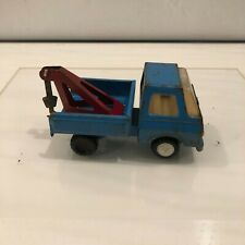 Vintage Tonka Mini Tow Truck Ford Econoline Wrecker Pressed Steel Toy