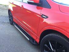 Hyundai Tucson 2004-2009 Pedane Sottoporta Barre Laterali in Alluminio