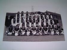 HEART OF MIDLOTHIAN FC HEARTS FC 1972 FULL SQUAD PHOTOGRAPH