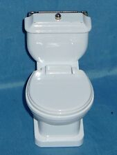 Miniature Toilet Bowl with Quartz Watch & Can Be Used as a Business Card Holder