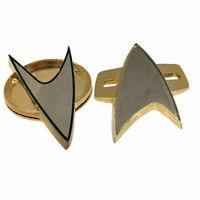 Star Trek Abzeichen Cosplay Nächsten Generation Voyager Communicator Abzeichen