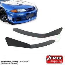 Universal Winglet Front Bumper Side Diffusser V Lip Spoiler Mitsubishi Subaru