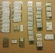42 Piece Lot of Mini PCI WAN Intel Wireless Wifi Card Network 0NC293 0YH774