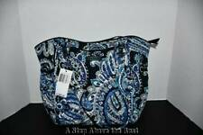 Vera Bradley Iconic Glenna Satchel Bag Deep Night Paisley