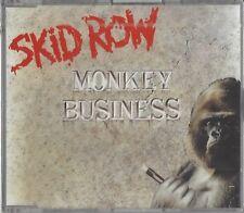 SKID ROW / MONKEY BUSINESS * NEW SINGLE CD 1991 * NEU *