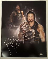 Roman Reigns Signed Autographed 16x20  Photo WWE The Guy JSA Sticker Only 12