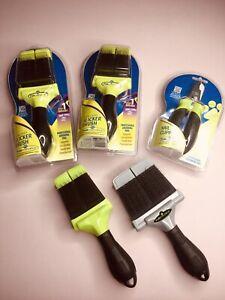 FURminator Firm Slicker Brush, Nail Clipper