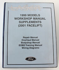 Ford books and manuals ebay ford laser large 1999 models 2001 facelift factory manual fandeluxe Gallery