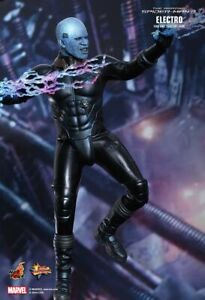 HOT TOYS 1/6 MARVEL THE AMAZING SPIDER-MAN 2 MMS246 ELECTRO MAX DILLON FIGURE