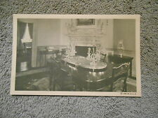 VINTAGE - POST CARD - THE DINING ROOM AT MOUNT VERNON.