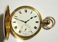 Full Hunter Analog Solid Gold Pocket Watches