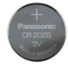 Panasonic CR2016 3V Lithium Coin Cell Battery - 5 Pack