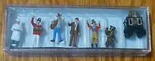 Preiser HO #24653 Fair Musicians/Vendors (Hand Painted) Figures (Bear Trainer)