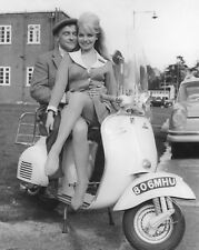 "Kenneth Conner Vespa Scooters Mods 10"" x 8"" Photograph"