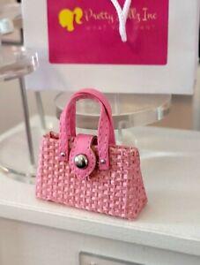 Integrity Toys Poppy Parker Sugar & Spice dolls Fashion pink  handbag