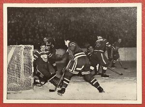TEAM CANADA 1952 OSLO OLYMPICS SUPER RARE GERMAN HOCKEY CARD KOSMOS