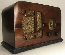 Gorgeous Vintage PreWar 1937 Delco United Motors R-1125 Wood Wooden Tube Radio