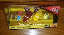Disney Pixar Cars 3 Fireball Beach Race 4 Pack McQueen Cruz Ramirez Guido 1:64