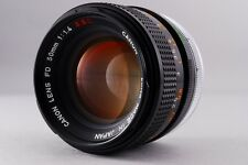 [Excellent+++] CANON  FD  F/1.4  S.S.C. 50mm  MF Lens  from Japan  Free/S  #6064