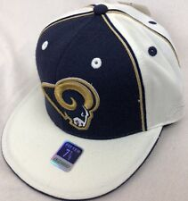 702adc11ee09c2 St. Louis Rams Reebok Cap Men's 7 7/8 Fitted Hat NFL