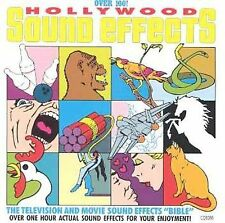 HOLLYWOOD SOUND EFFECTS OVER 100 CLASSIC TELEVISION, MOVIE & HALLOWEEN SOUND F/X