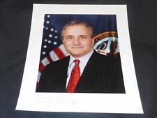 Sec of Veterans Affairs Anthony Principi 8x10 Vintage Autograph Photo #2 JB6