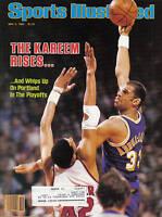 1983, Sports Illustrated, basketball, magazine, Kareem Abdul-Jabbar,L.A. Lakers