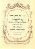 JOSEPH HAYDN SAMMLUNG LEICHTER KLAVIERSTÜCKE NOTENBUCH ( #242)