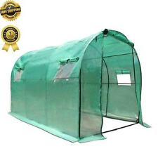 3X2X2M Walk In GREENHOUSE Garden Green House Plant House Shed PE Cover Arch Roof