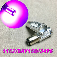 Brake Stop Light 1157 2057 3496 7528 33 BAY15D Purple LED Bulb W1 For V W E