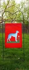 Greyhound, Garden Flag, Dog, Yard, Indoor/Outdoor, Art, Decoration, Wall Hanging