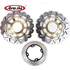 Front Rear Brake Discs Rotor Fits Honda CBR600RR 2003 - 2015 2004 2005 2006 2007