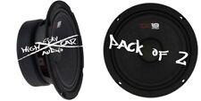 "2) NEW DS18 PRO-GM6 6.5"" Midrange Loudspeakers 8 ohm Speakers Mid Range"