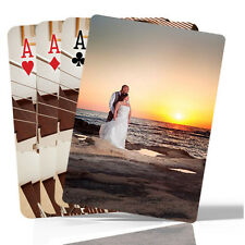 Personalised Playing Cards with using two images, front and back